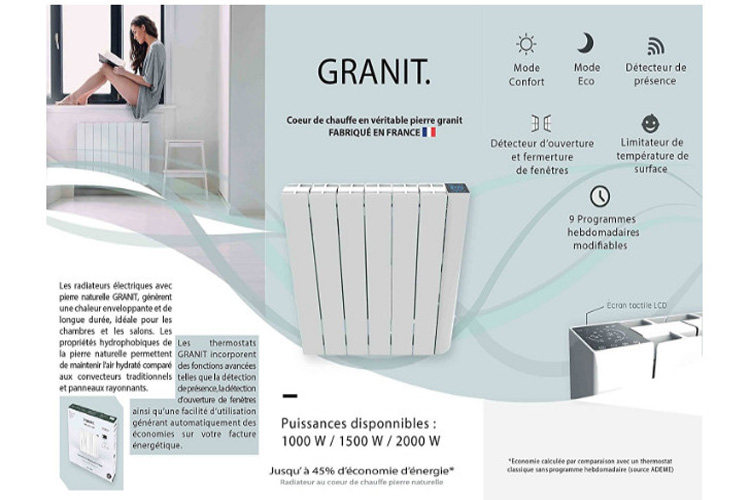 test radiateur electrique top radiateur inertie pierre with test radiateur electrique. Black Bedroom Furniture Sets. Home Design Ideas